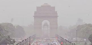 delhi air pollution levels under odd even scheme