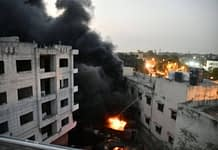 fire in south delhi