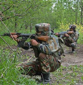 militants in kashmir
